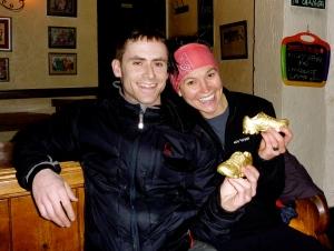 Our golden shoe trophies!