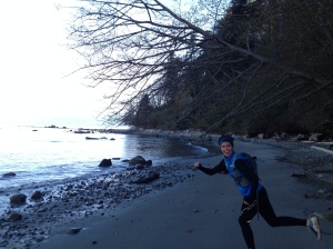 Vancouver running and hiking