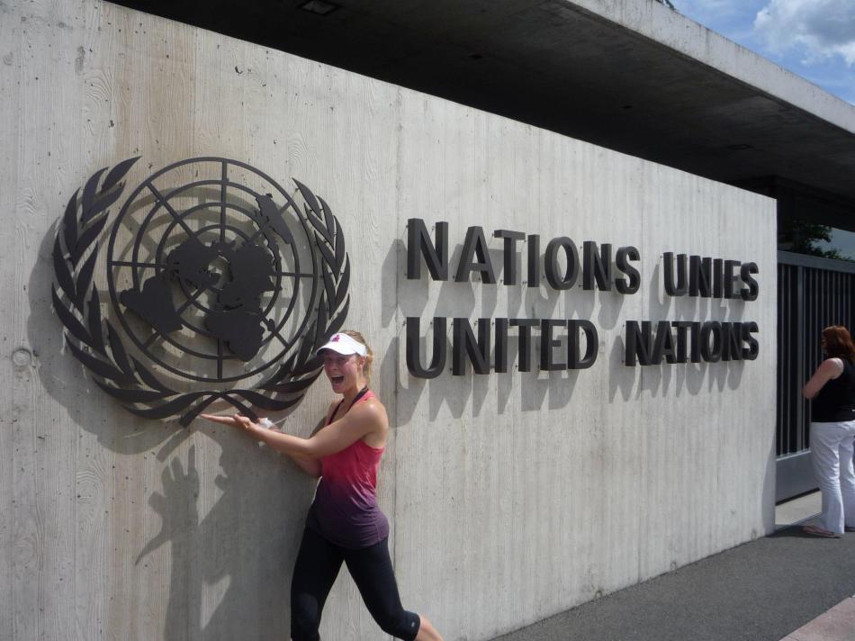 belinda and UN