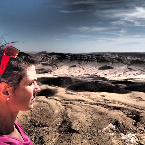 Finding solace in the Negev Desert