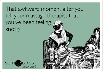 Top Five Most Awkward Massages
