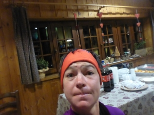 Waking up at the rifugio - time to cut off my shorts and run naked!