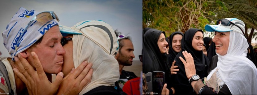 Running in Iran: head covered, heartfull