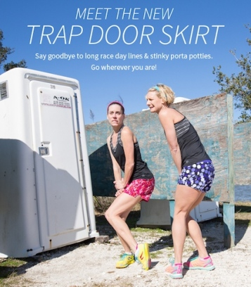 trap door skirt